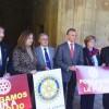 La Alhambra se iluminará esta noche contra la polio