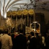 La iglesia de Santo Domingo da cobijo a los pasos de La Cena, La Cañilla y El Rosario