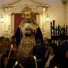La Virgen del Rosario fue trasladada a su paso