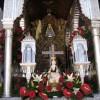 Rocío 2012: El Simpecado de Granada, con rosas rojas, aguarda su presentación