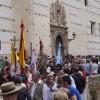 La ciudad se llena de color con la salida de la Hermandad del Rocío de Granada