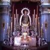 Concurrida despedida a la Virgen de las Nieves, de Las Gabias, que volverá restaurada