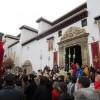 La Virgen de la Aurora regresó a San Miguel Bajo, tras la restauración del templo