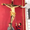 El jueves, bajada de la imagen de Los Favores y el viernes, besapiés y vía crucis