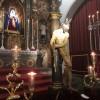 Concurrido besapié a Jesús del Perdón en la iglesia de Santa María de la Aurora y San Miguel Bajo