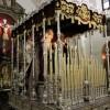 El palio de la Virgen de la Consolación se podrá visitar hoy y mañana viernes antes de la Magna
