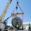 Comienza la instalación de los aerogeneradores del parque eólico experimental de Padul