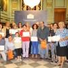 Anejos entrega sus diplomas de informática a una veintena de alumnos de Garnatilla y Tablones