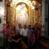 La Comisión de Prensa de la Coronación de La Amargura conoce los trabajos y el diseño del palio