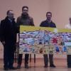 Francisco Arredondo dona un cuadro al colegio de Benamaurel