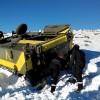 LaUnidad Militar de Emergencias practica en Sierra Nevada