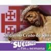 ONCE presenta el cupón dedicado al Cristo de San Agustín el Lunes Santo