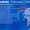 Agenda de la Universiada para el viernes 13 de febrero