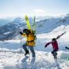 Sierra Nevada acoge una competición entre familias y amigos con pruebas de alpino y freestyle