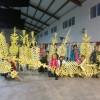 Palmas con primor para el Domingo de Ramos elaboradas por mujeres de Montefrío
