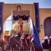 Comida de confraternización de Los Salesianos