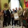 El Huerto visita al alcalde por la Coronación de La Amargura