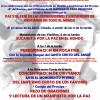 Acto por la paz y contra la persecución de los cristianos en el Convento de los Ángeles el sábado