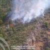 Un rayo provoca un nuevo incendio en el Parque Natural de la Sierra de Baza