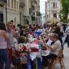 Diez años de encaje de bolillo en Pinos Puente con gran participación