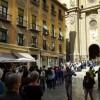 Granada se desborda en el puente