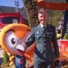 Un guardia civil granadino participa en los Juegos Mundiales Militares en Corea del Sur