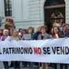 AUDIO: El 'Patrimonio no se vende' reza una concentración en La Plaza del Carmen